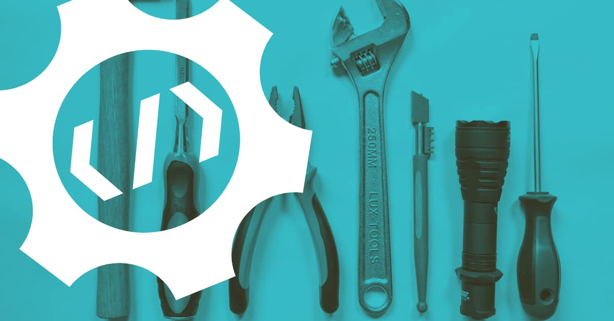 Picture of tools depicting the different kinds of coding tools used in ruby and javascript