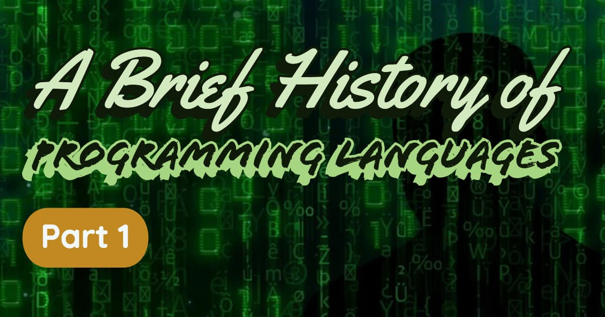 Code From Old Programming Languages
