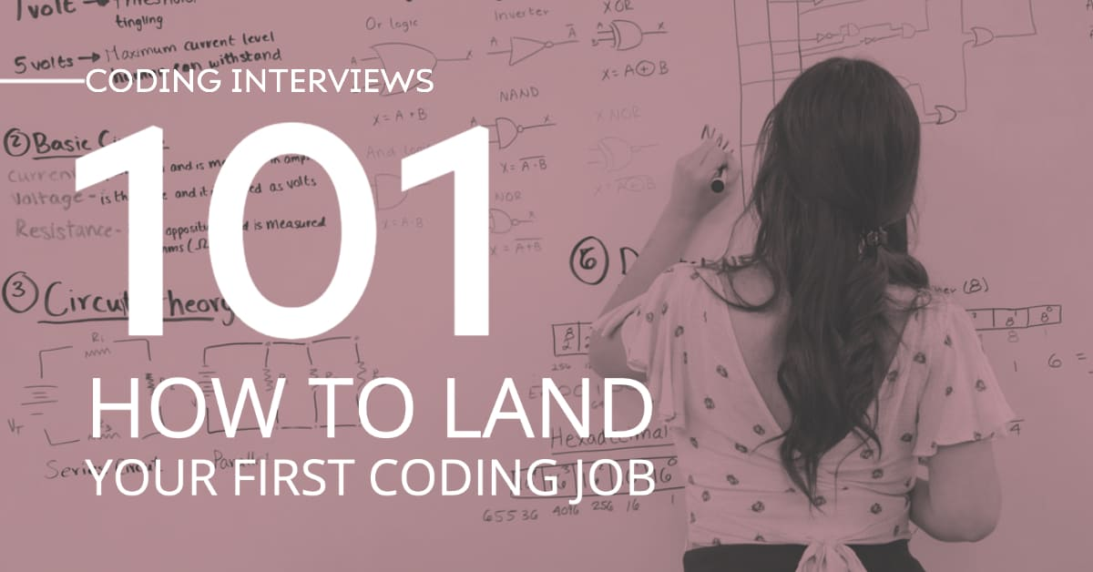 Woman Working Writing A Coding Problem During A Coding Interview For Her First Coding Job