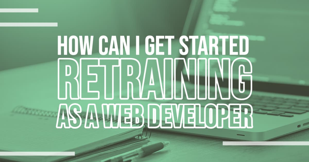Person Retraining as a Web Developer